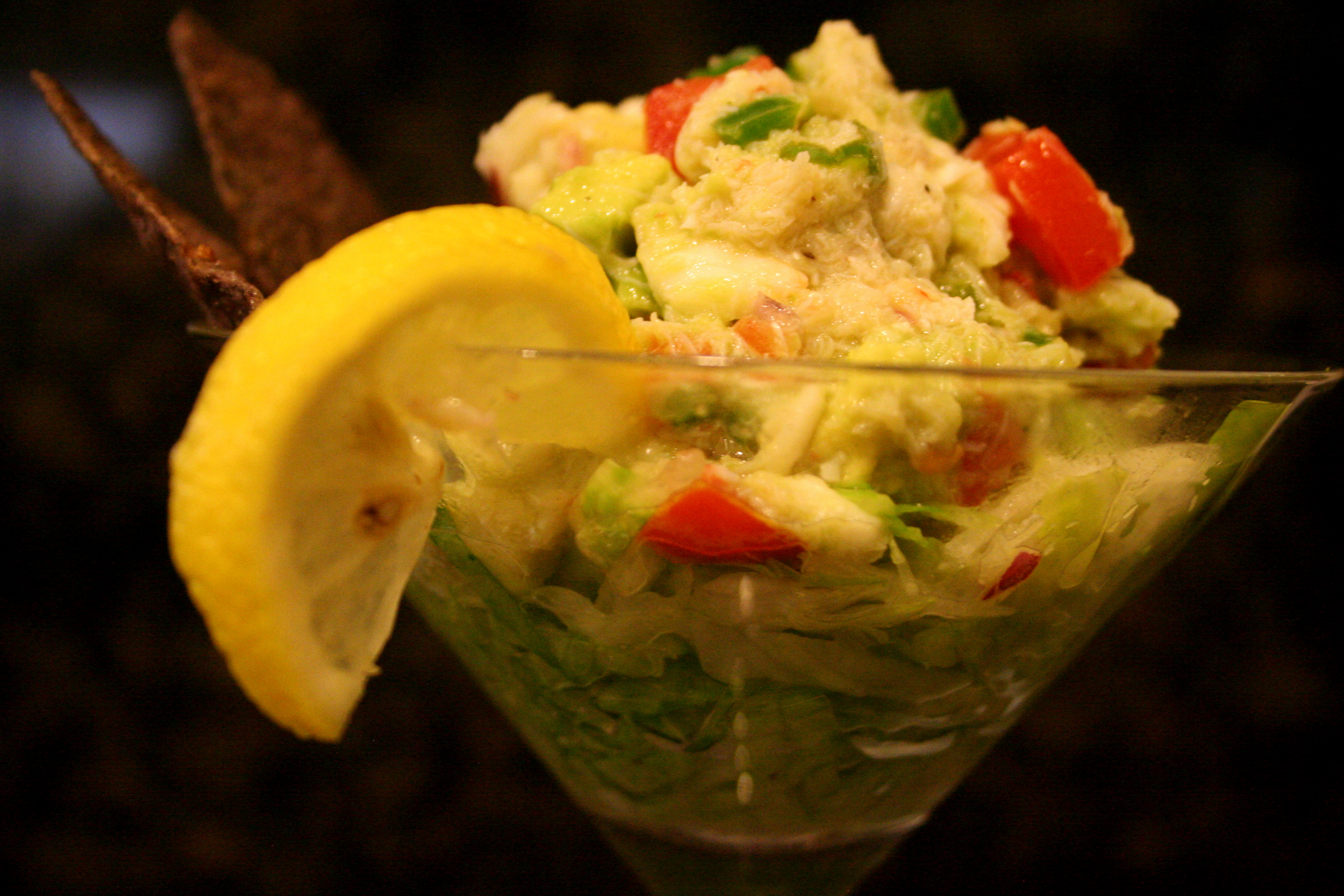 ... than krabby patties. [crab guacamole] - sweet caroline's cooking