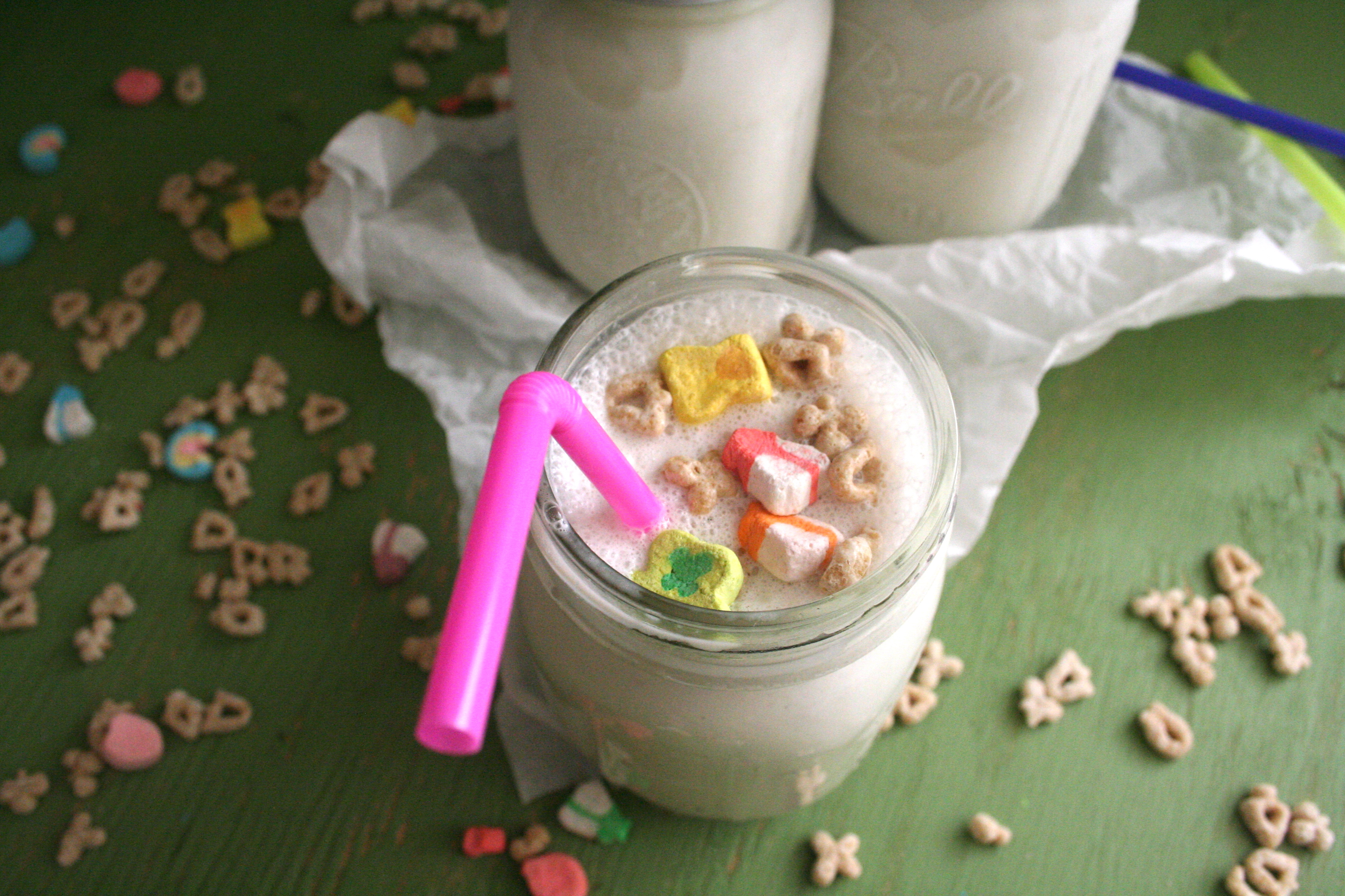 Not quite kid friendly spiked cereal milk shake a few months ago conan had pastry chef christina tosi of momofuku milk bar on the show during the episode she taught conan how to make cereal milk white ccuart Choice Image