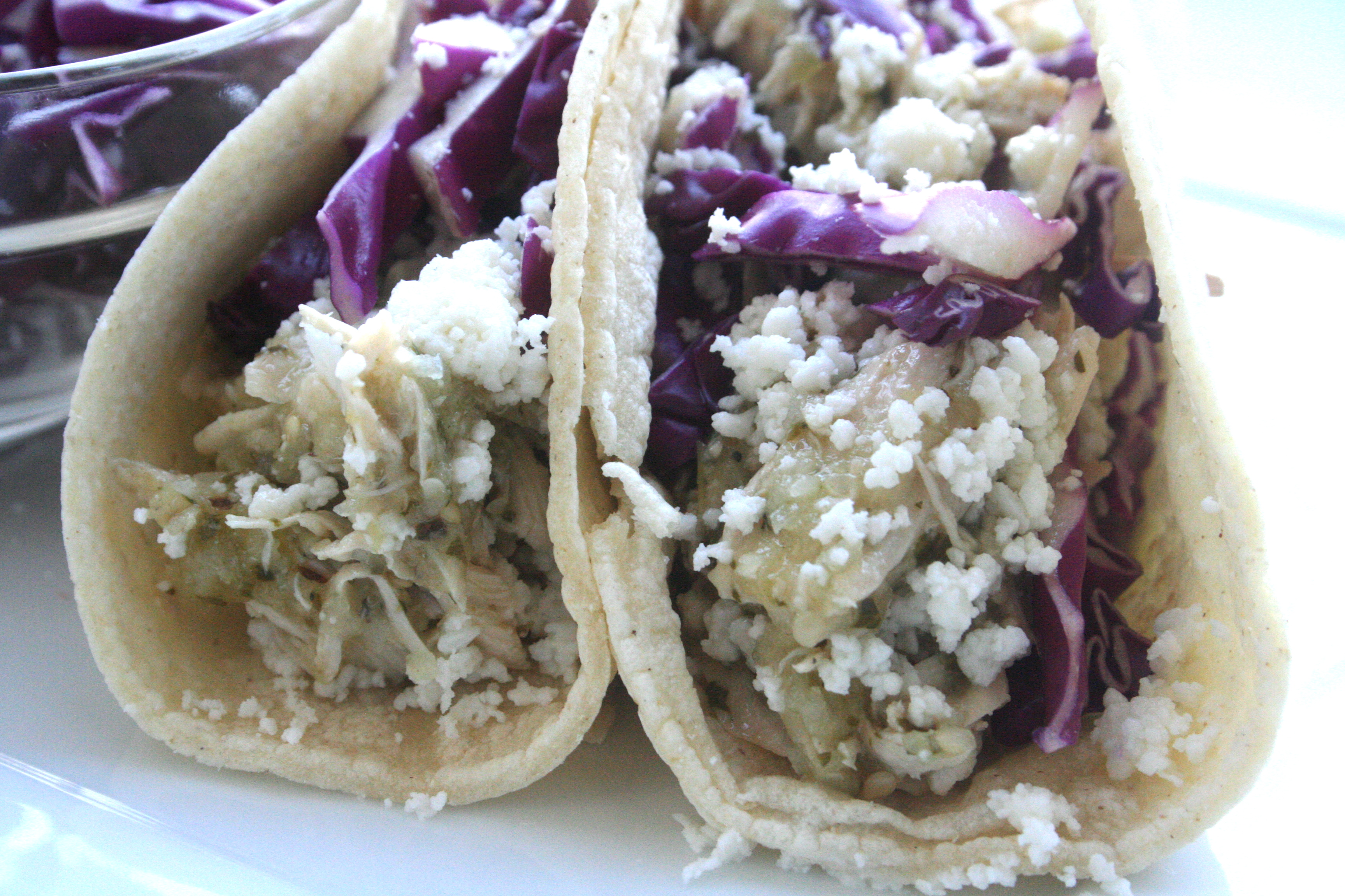 ... Chicken And Tomatillo Tacos With Queso Fresco Recipes — Dishmaps